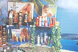 Unikátní výběr solární kosmetiky v různých cenových relacích